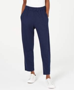 Eileen Fisher Organic Pull-On Tapered Pants, Regular & Petite
