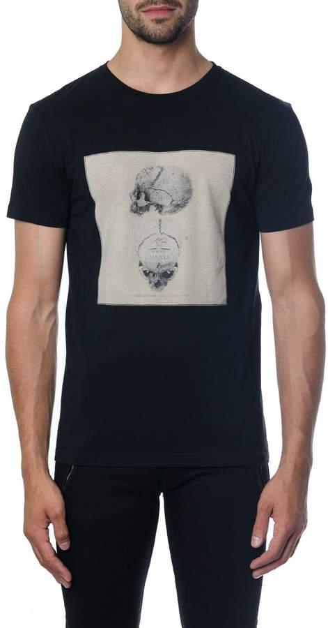 Alexander Mcqueen Alexander McQueen Black Skull T-shirt In Cotton
