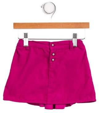 Armani Junior Girls' Ruffle-Accented Corduroy Skirt