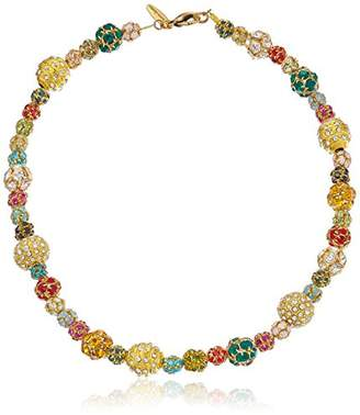 "Swarovski Lenora Dame ""Retro"" All Decked Out In Bright's Choker Necklace"