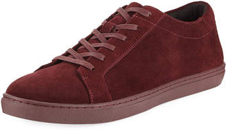 Kenneth Cole Men's Suede Low-Top Sneakers