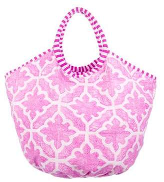 Roberta Roller Rabbit Large Printed Woven Tote