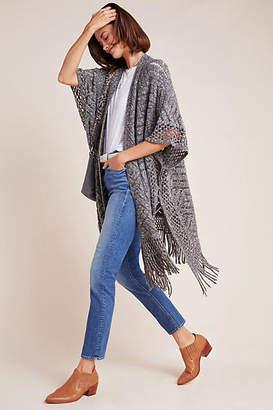 Anthropologie Mabel Fringed Kimono