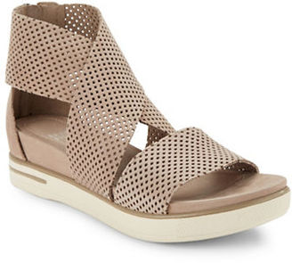 Eileen Fisher Sport2 Platform Sandals $225 thestylecure.com