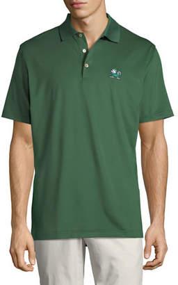 Peter Millar Men's Notre Dame Fighting Irish Solid Polo Shirt, Green