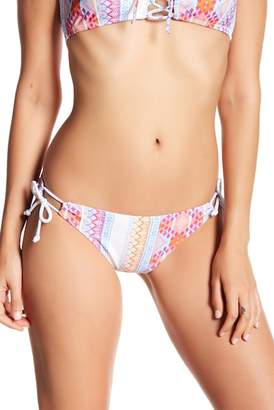Sweet Pea RAISINS Side Tie Print Bikini Bottoms