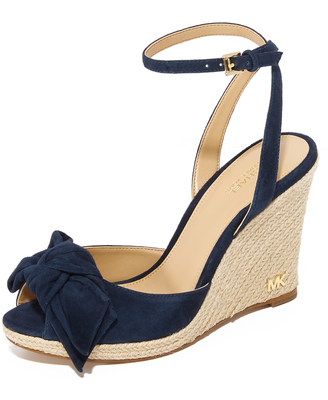 MICHAEL Michael Kors Willa Wedges $150 thestylecure.com