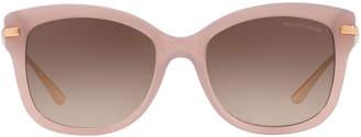 Michael Kors Metal-Temple Plastic Sunglasses