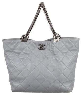 Chanel Large Shopping In Chains Tote