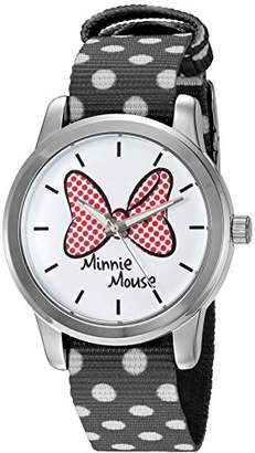 Disney Minnie Mouse Women's Silver Alloy Watch