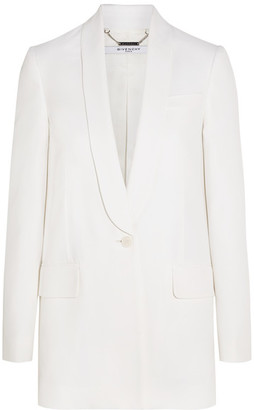 Givenchy - Blazer In White Crepe - FR34 $2,590 thestylecure.com