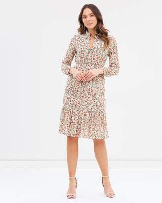 Forcast Martha Button Up Dress