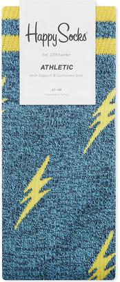 Happy Socks Athletic cotton-blend socks $13 thestylecure.com