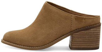 Toms Suede Leila Mule Shoes