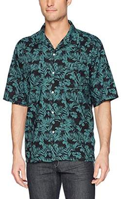Life After Denim Men's Short Sleeve Relaxed Fit Cozumel Printed Camp Shirt