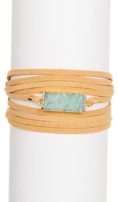 Panacea Amazon Wrap Turquoise Bracelet