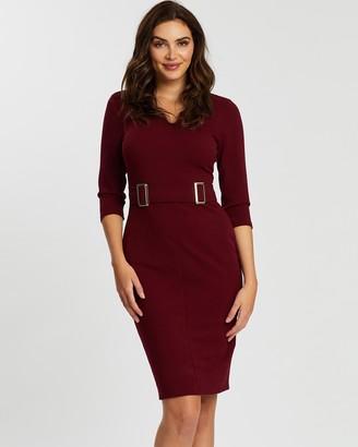 Dorothy Perkins Buckle Front Dress