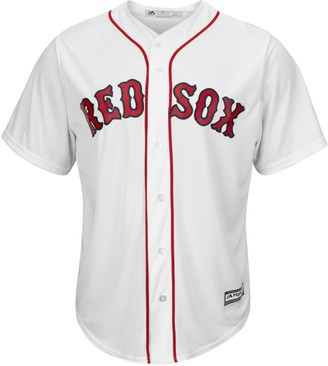 Majestic Big & Tall Boston Red Sox Cool Base Replica Jersey