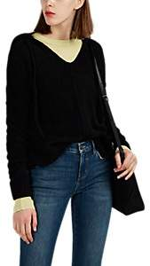 ATM Anthony Thomas Melillo Women's Textured Fleece Hoodie - Black