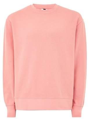 Topman Mens Pink Sweatshirt