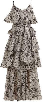 Lisa Marie Fernandez Imaan ruffled floral-print cotton dress
