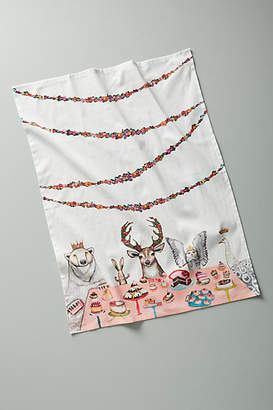 Anthropologie Dinner Party Dish Towel