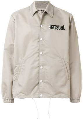 MAISON KITSUNÉ x NBA hooded coach jacket