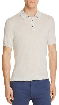 NN07 Walt Merino Wool Slim Fit Polo Sweater $150 thestylecure.com