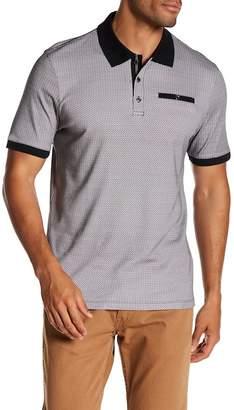 English Laundry Geo Print Polo Shirt