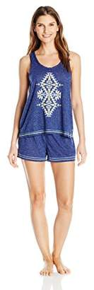 Kensie Women's Tank and Boxer Knit Set