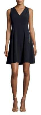 T Tahari Annalise Fit-&-Flare Dress