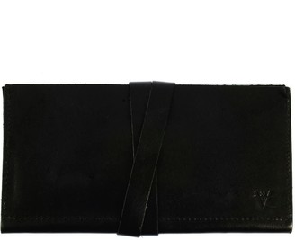 Atelier Hiva Hedera Leather Wallet Black