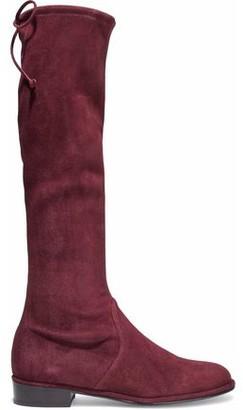 Stuart Weitzman Suede Over The Knee Boots