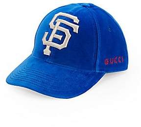 Gucci Women's San Francisco Giants Velour Baseball Cap