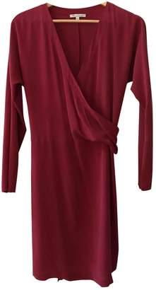 Les Petites Red Silk Dress for Women