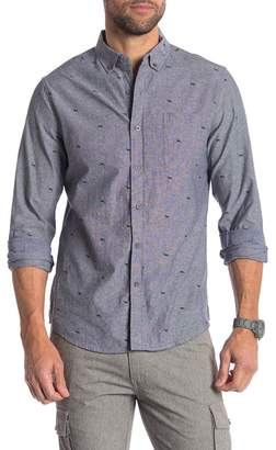 Heritage Deer Print Slim Fit Shirt