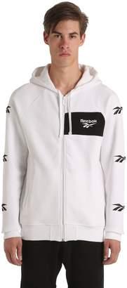 Blend of America Hooded Zip-Up Cotton Sweatshirt