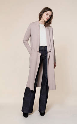 Soia & Kyo ANNABELLA straight fit coatigan with patch pockets