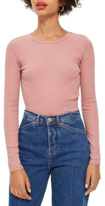 Topshop Long Sleeve Tee
