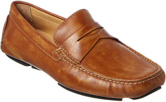Donald J Pliner Men's Varran Leather Driving Loafer