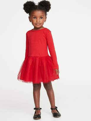 Old Navy Scoop-Back Tutu Dress for Toddler Girls