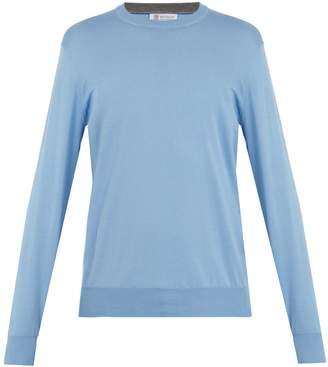 Brunello Cucinelli Crew-neck cotton sweater