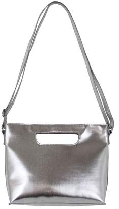 T-Shirt & Jeans Metallic Cutout Handle Crossbody Bag