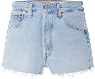 RE/DONE Vintage Levi's Denim Shorts