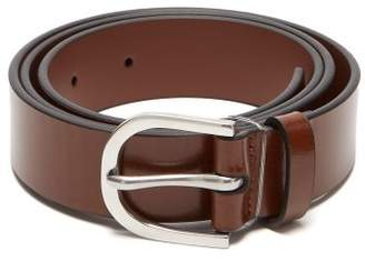 Paul Smith Leather Belt - Mens - Tan