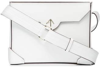 Atelier Manu white Bold leather cross-body bag