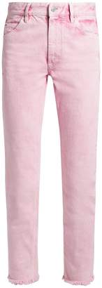 Etoile Isabel Marant Flovera straight-leg cropped jeans