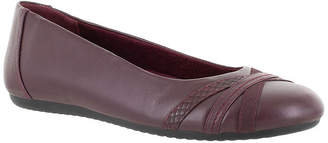 Easy Street Shoes Womens Derry Ballet Flats Round Toe