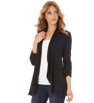 97bee8e9 Apt. 9 Women's Ruched Sleeve Open-Front Cardigan