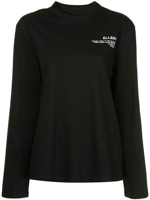 Ellery Eye longsleeved T-shirt